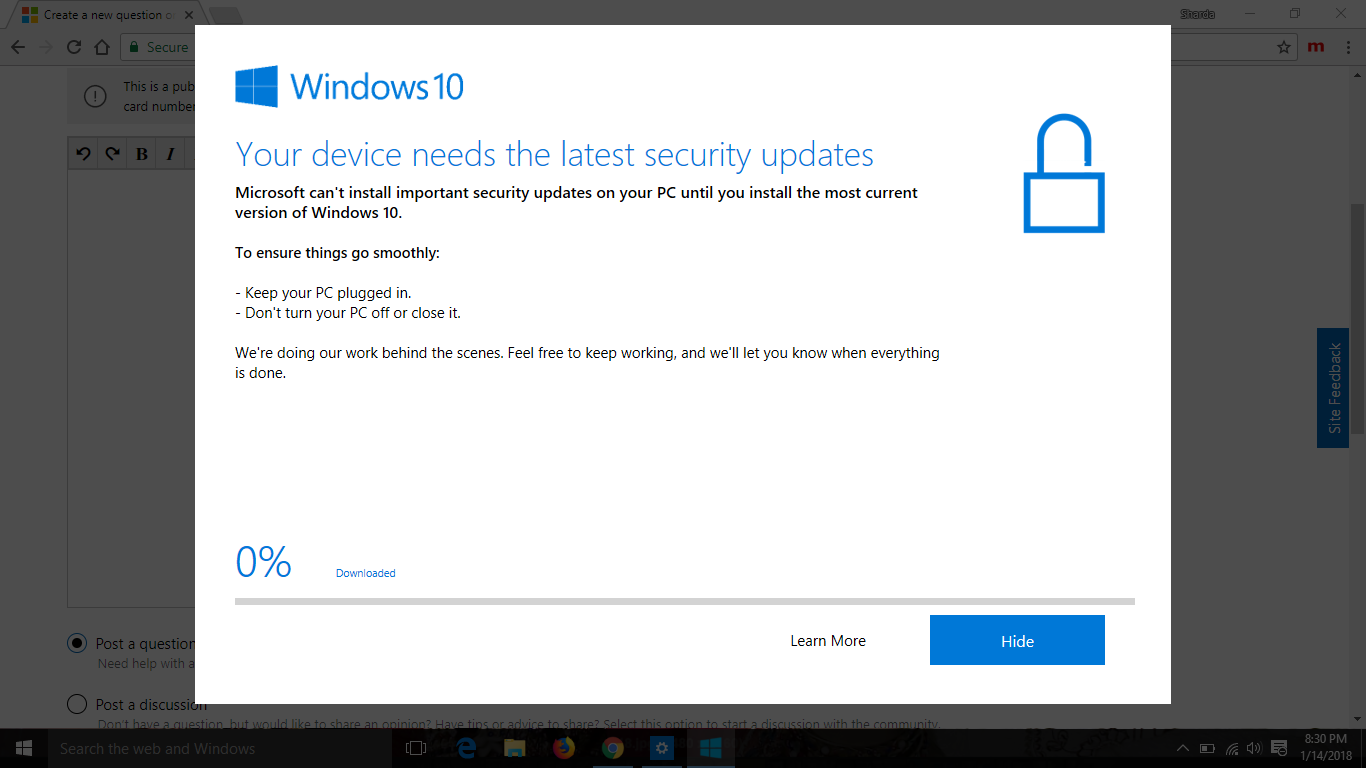 windows 10 latest security patch