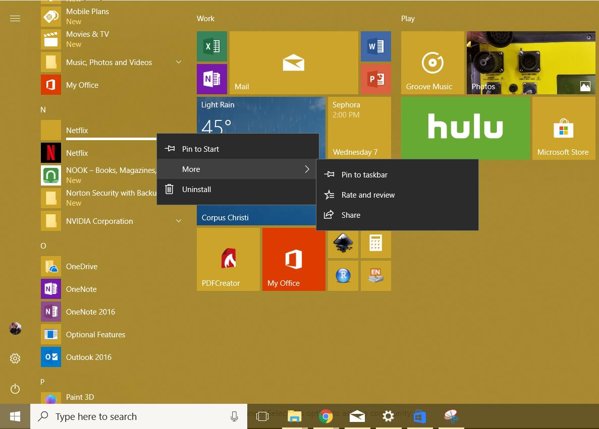 Broken/Duplicate Item in Start Menu - Microsoft Community