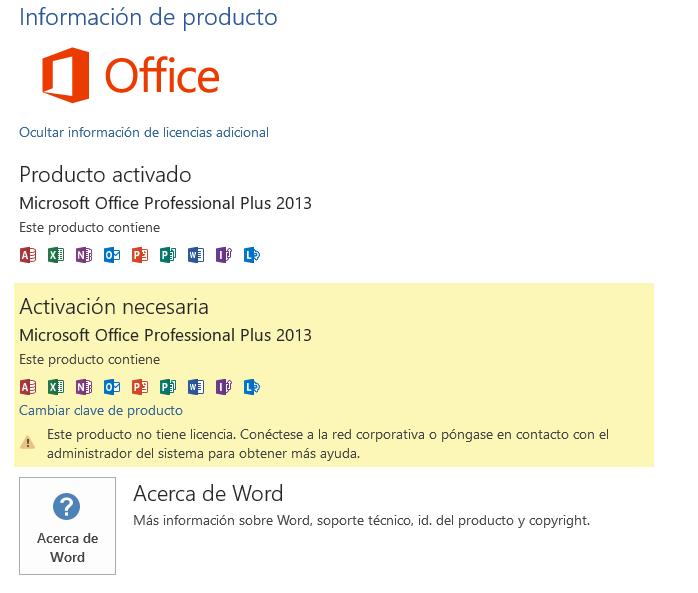 clave para windows office 2013