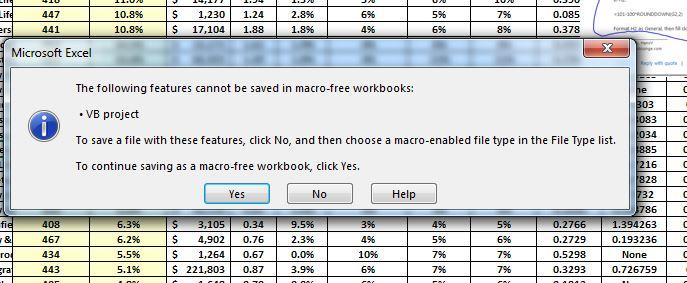 macro free workbook excel 2013
