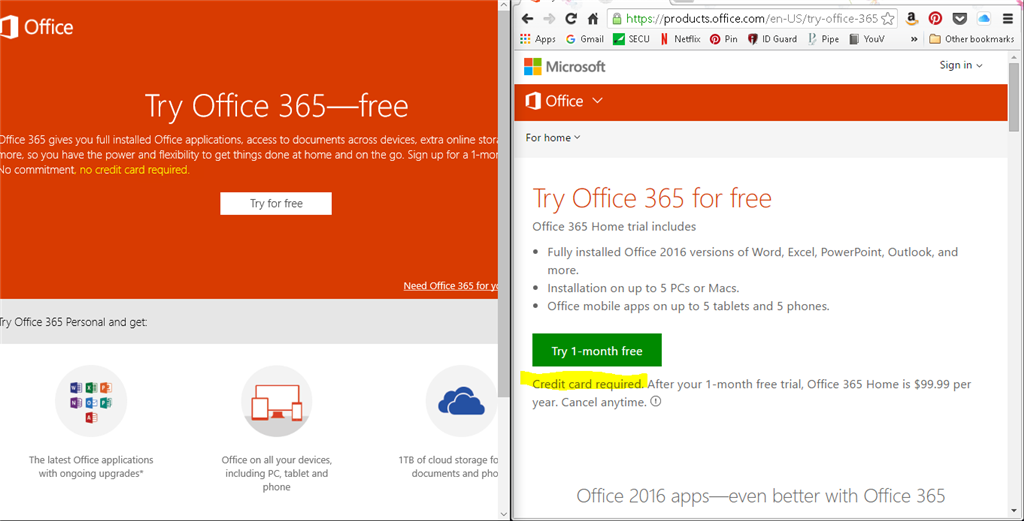 Microsoft 365 and Windows 10 are very confused - Microsoft