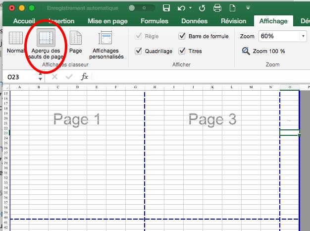 Probleme De Saut De Page Excel Office 2016 Mac Microsoft Community