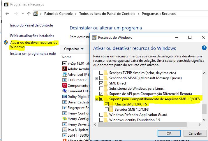 Smb1 Windows 10