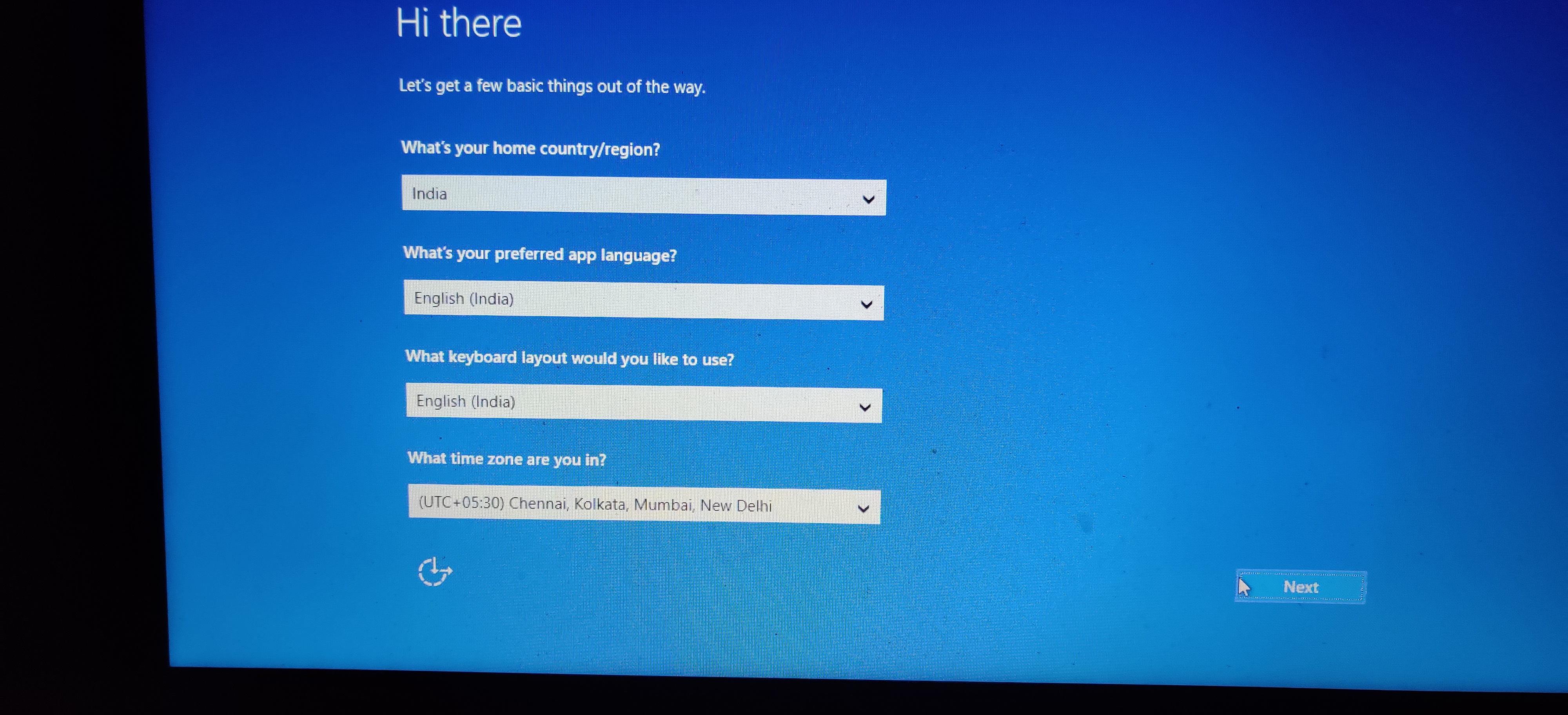 Issue with windows 10 after factory reset   Microsoft Community