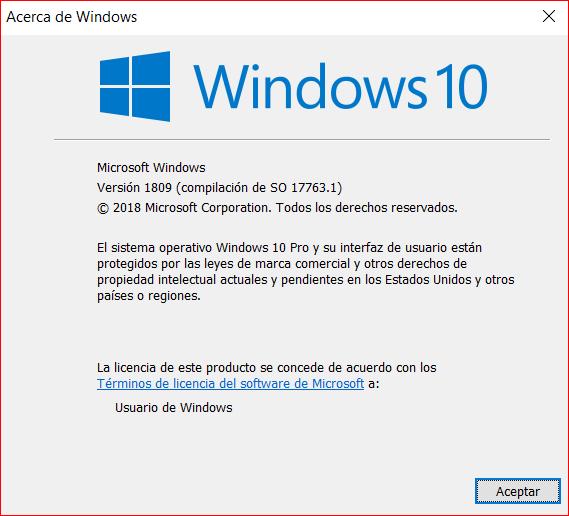 descargar windows 10 pro 64 bits 2018 ingles