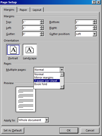 Non Standard Page Size In Word 2013 Microsoft Community