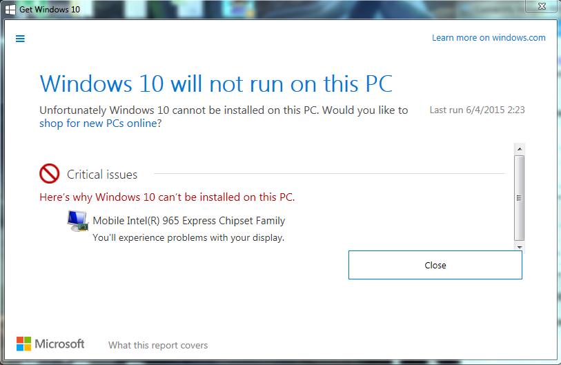 intel 945 vga driver for windows 7 32bit free download