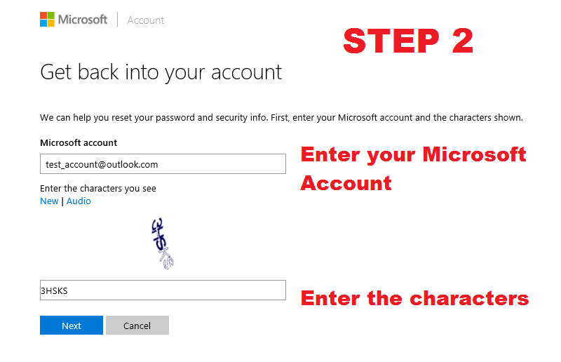 how to find out your microsoft password