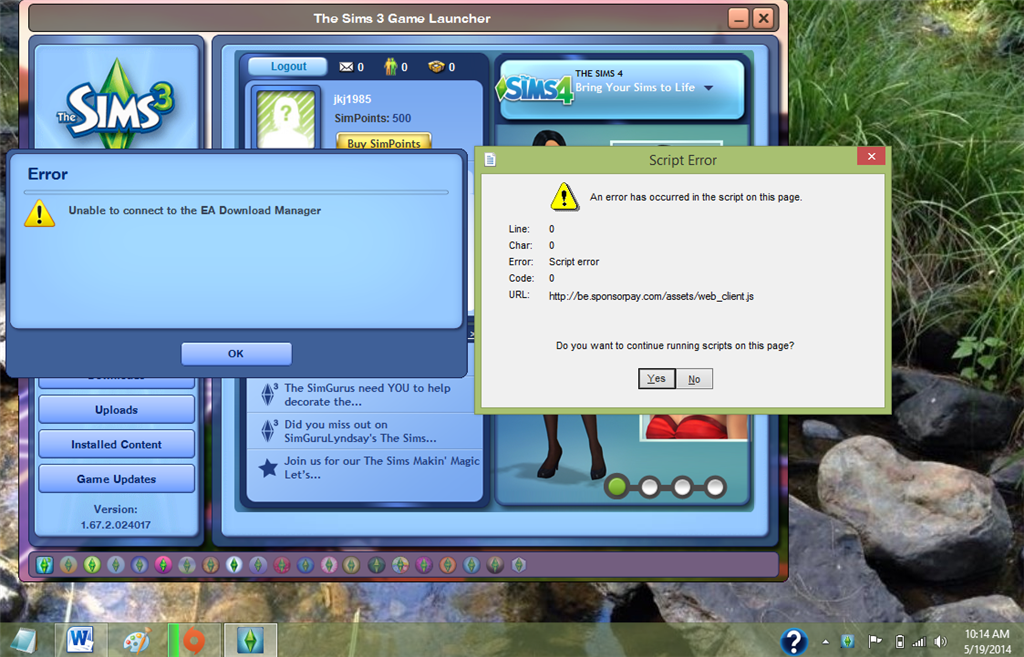 Sims 2 software update windows 7 windows xp update internet explorer 8