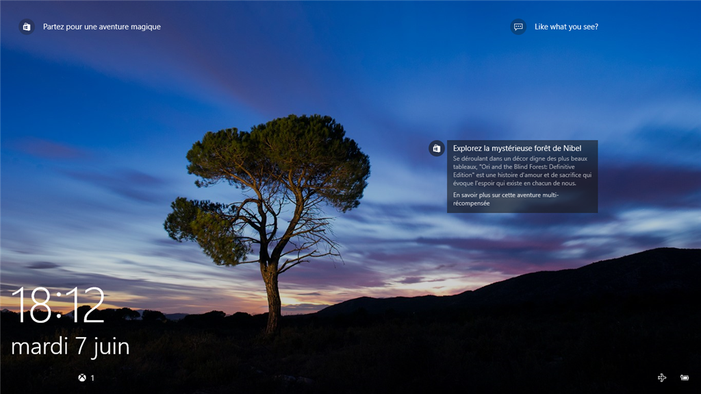 New store feature to Windows Spotlight? LOck screen Picture