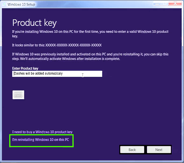 windows 10 retail license key