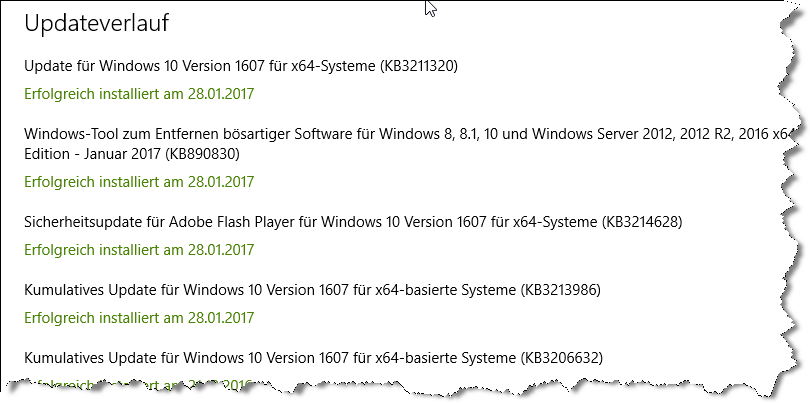 <Gelöst> Windows 10 - Error code: 0x80070426