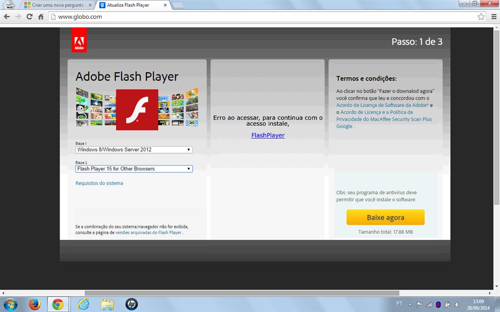 Download de falso adobe flash player microsoft community imagem reheart Choice Image