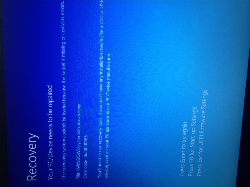 ntoskrnl.exe windows 10 virus