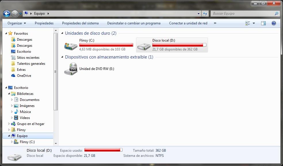 Windows 7 Cómo Reducir El Tamaño De La Carpeta Microsoft Community
