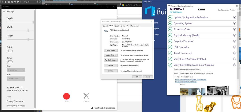 Kinect Drivers For Windows 10 - softprothesoft