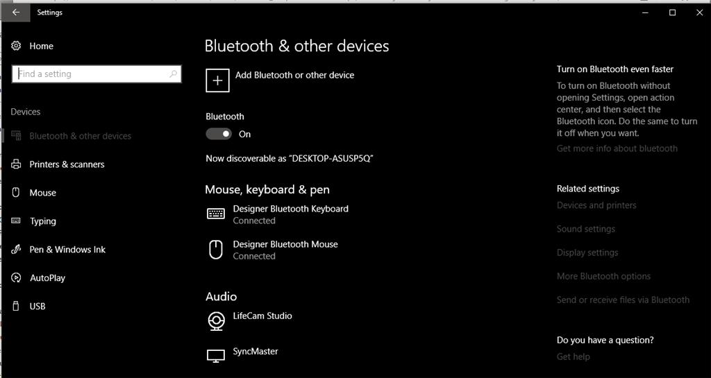 Microsoft Designer Keyboard function keys, hotkeys not