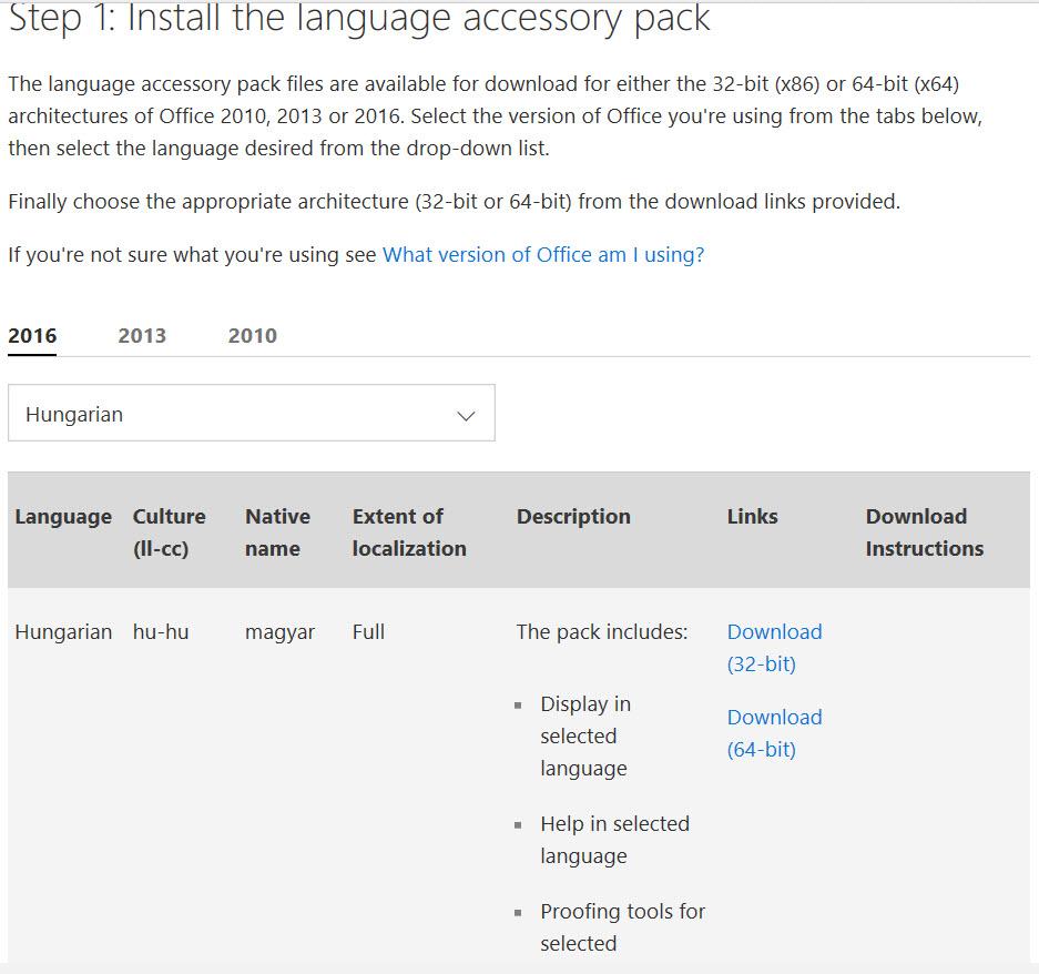 microsoft office language pack 2013 (arabic) (32-bit)