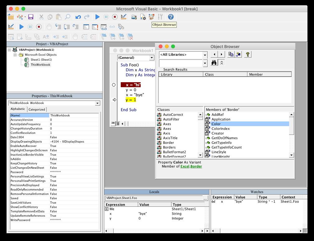 Bringing back Visual Basic IDE to Office for Mac - Microsoft