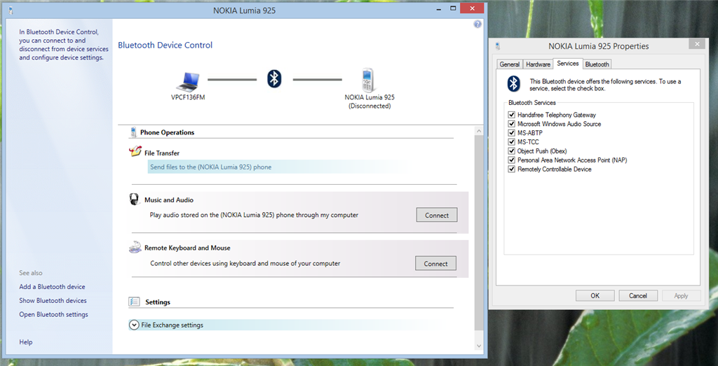 Windows 8, 8 1 Bluetooth Hands free Service problem