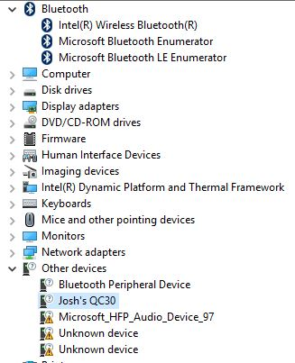 Bluetooth Headphones connected but not working (saying driver not -  Microsoft Community