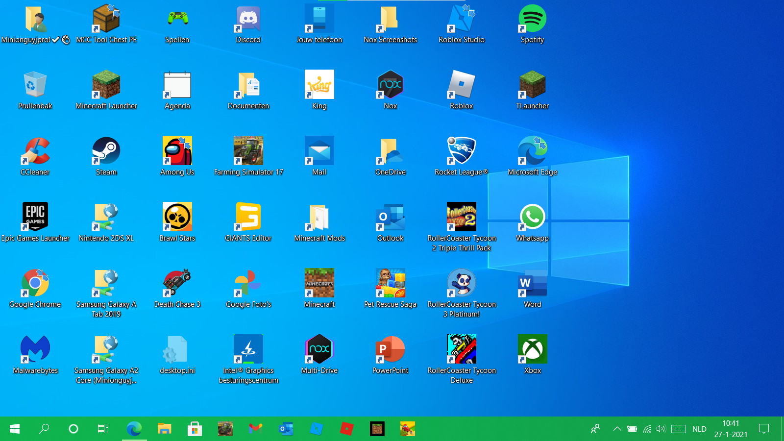 Desktop icons changed place after ...