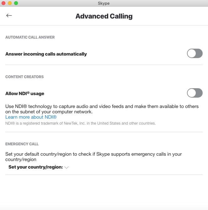 NDI Usage setting no longer visible - Microsoft Community