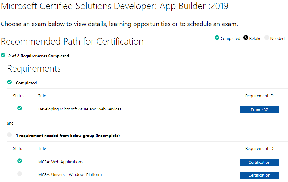 Mcsd App Builder 2019 Training Certification And Program Support