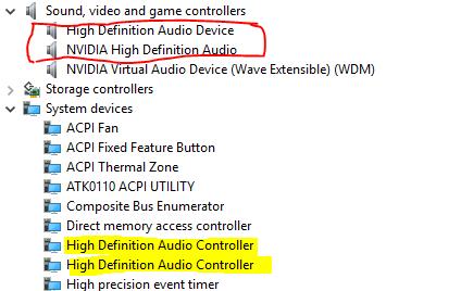 microsoft update no audio