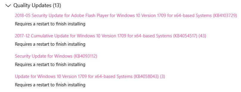 microsoft windows 10 update december 2017