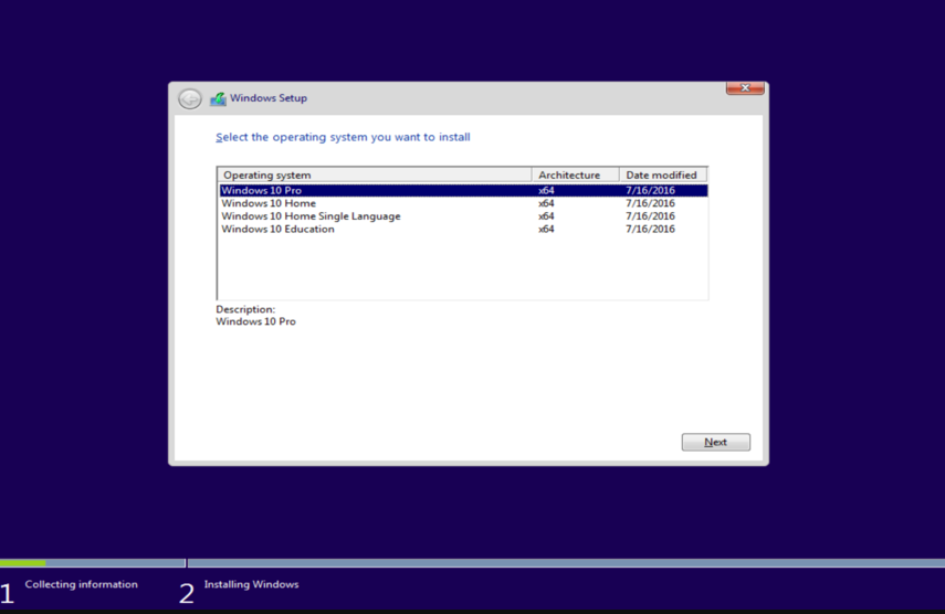 download windows 10 home setup file