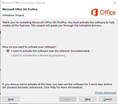 microsoft office 365 activation code