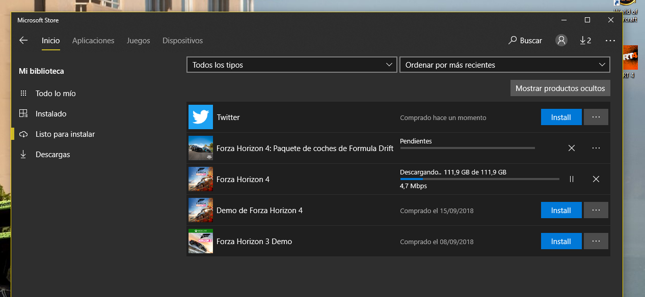 Forza Horizon 4 - Problema con la descarga (Mod Translation