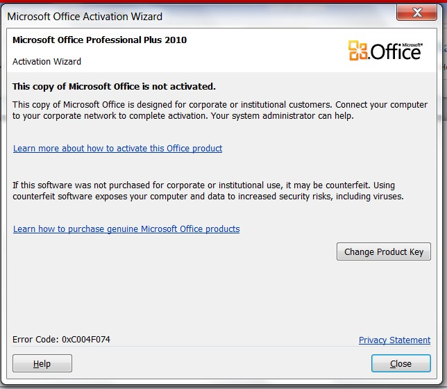 what version is my office activation key for