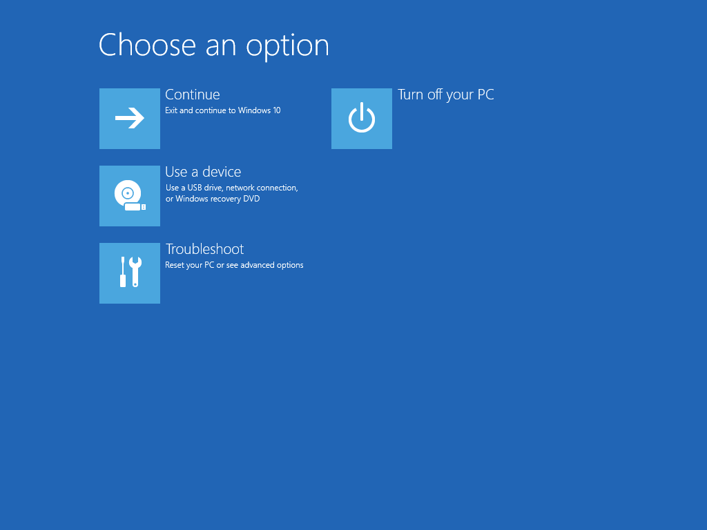 how to access recovery drive in windows 8