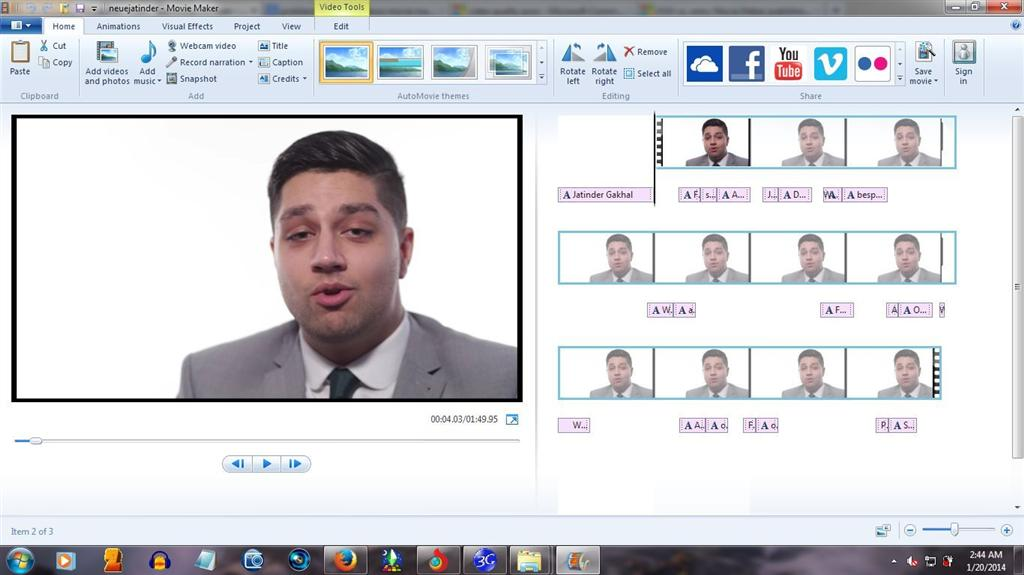 Blurred & Pixelated Video on Windows Live Movie Maker - Microsoft