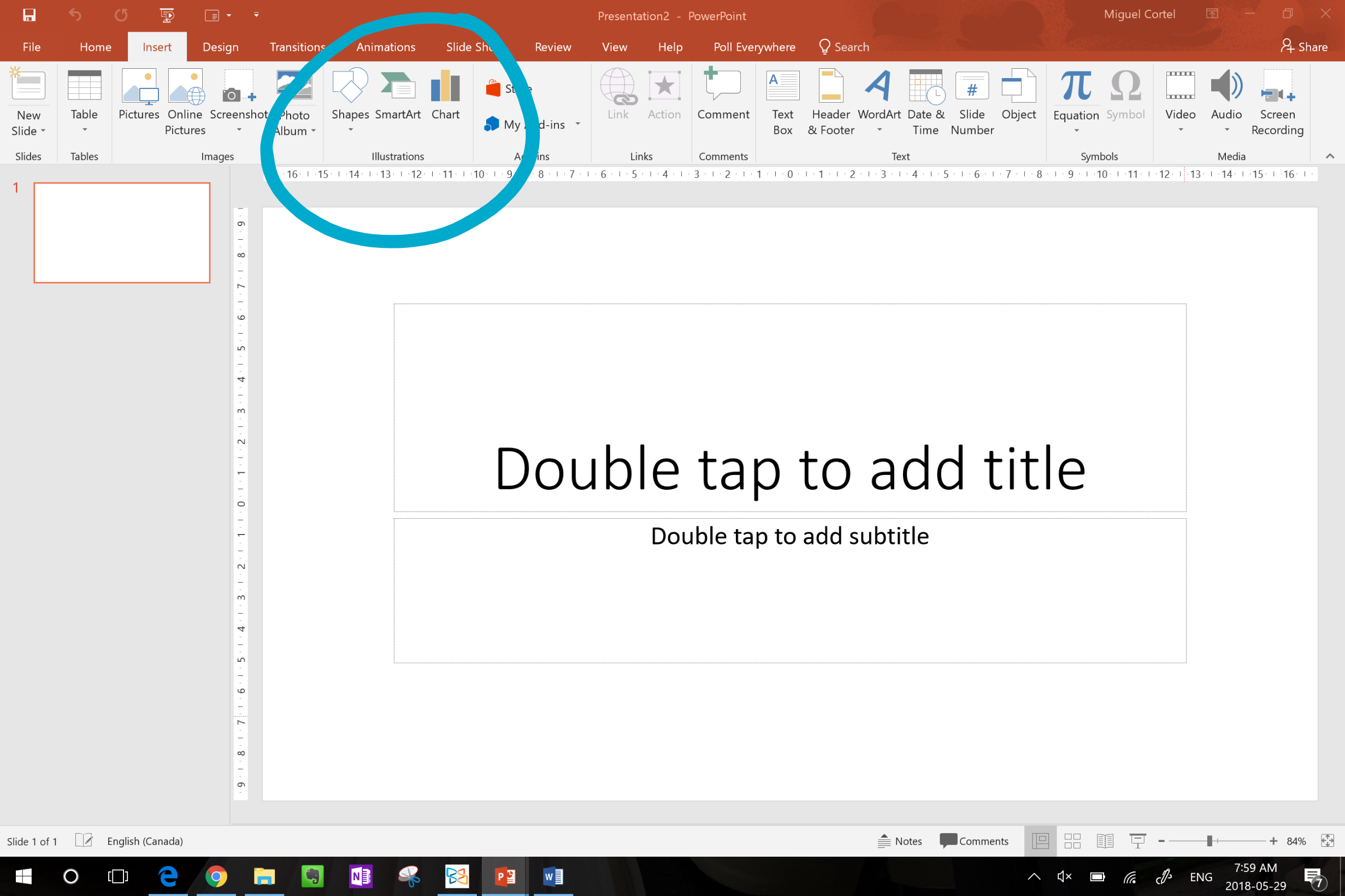"""""""Insert Icons"""" Missing On Office"""