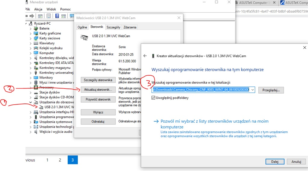 ASUS K62JR CHICONY CAMERA DRIVER FOR WINDOWS 7