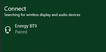 Bluetooth headset paired, but can't connect - Microsoft Community