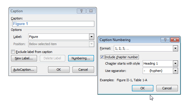 how to reduce the space between figure number and caption