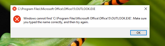 office 2013 not opening on windows 10