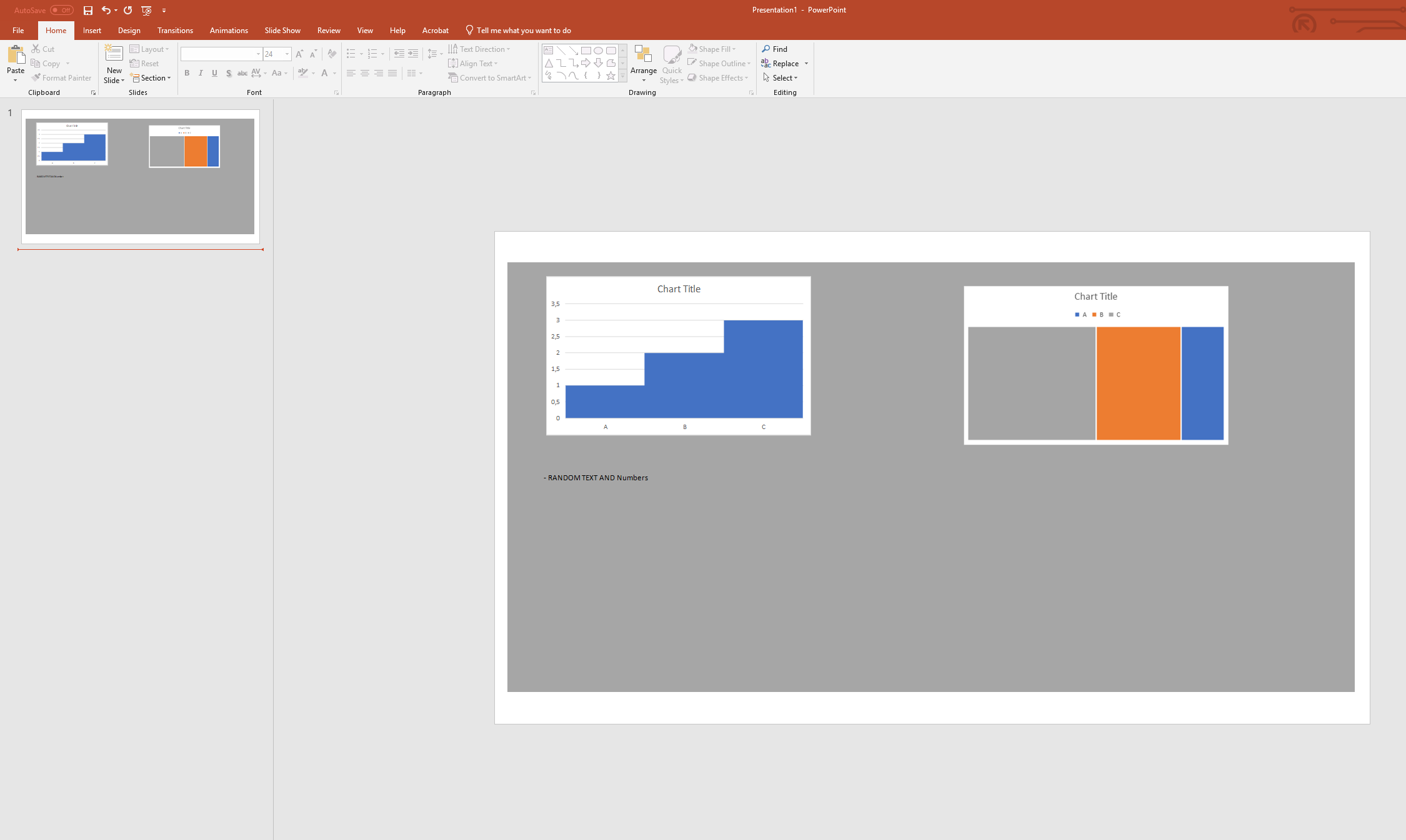 Powerpoint linked excel objects / Windows scaling