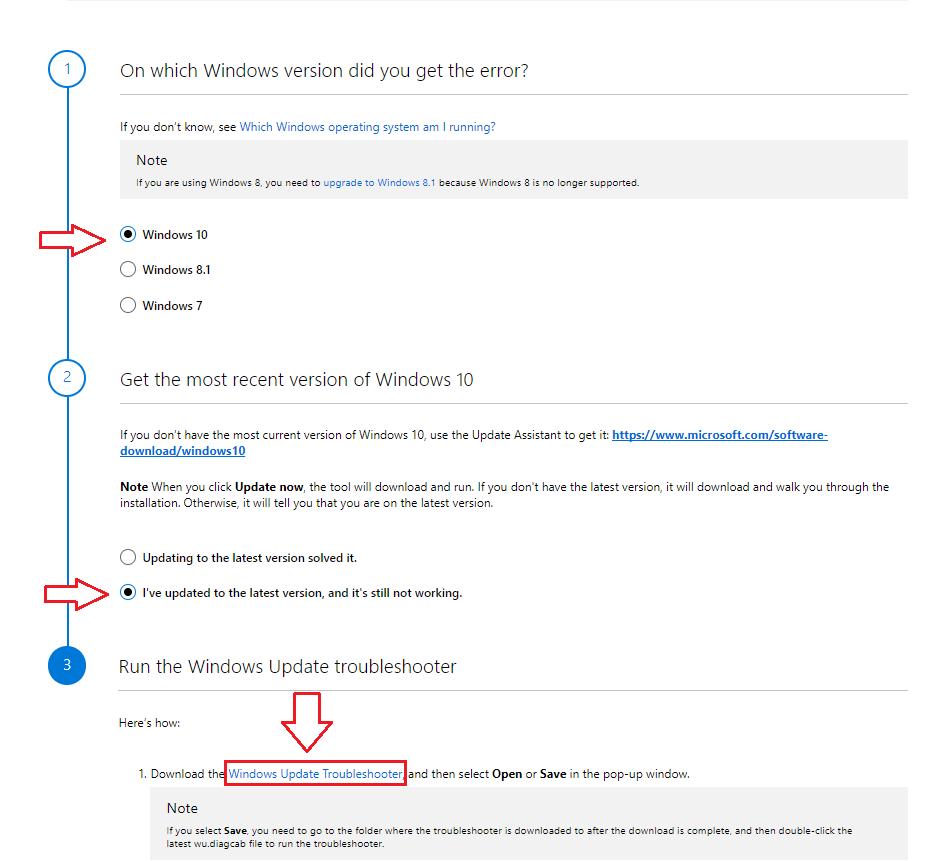 windows 10 update 1709 fehler