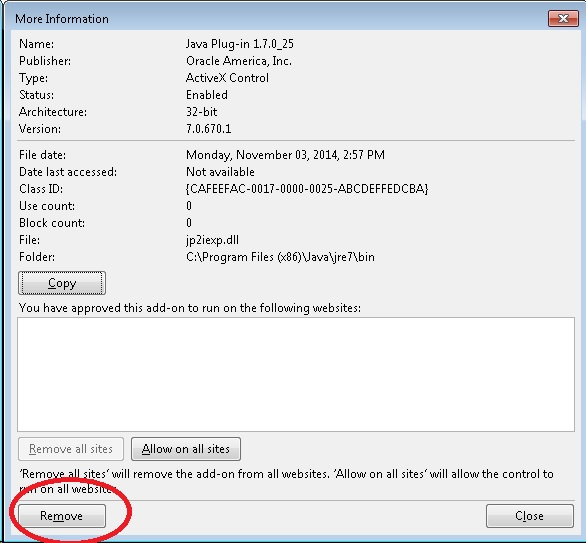 any idea why there is (3) enabled Java Plug-in 1.6.0_24\u0027s