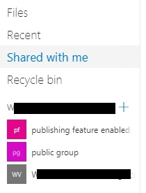 Android, Share to a SharePoint site as listed in OneDrive for