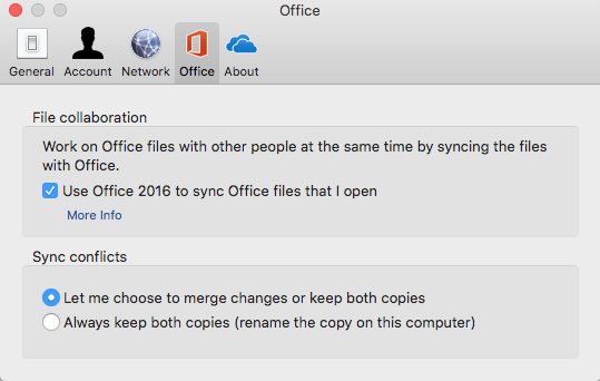 How do I set Finder to open OneDrive for Mac files from