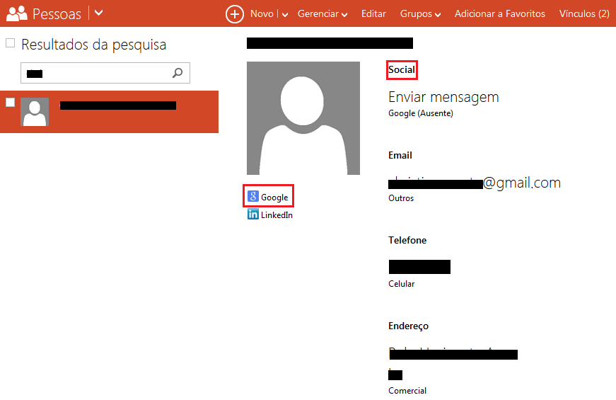 Automatic sync between Google Contacts and outlook com People