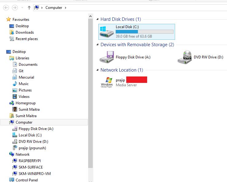 Windows Explorer doesn't show DLNA Server - Microsoft Community