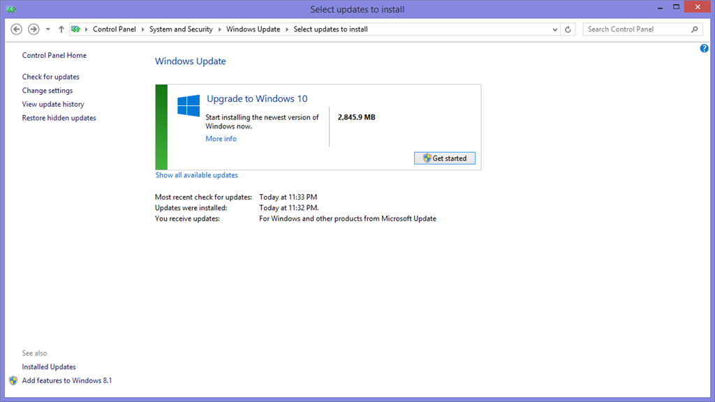 microsoft update download