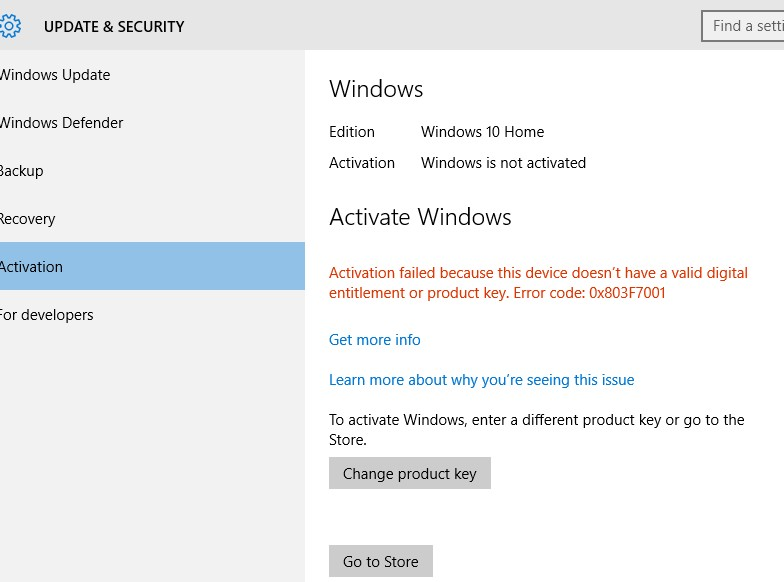 Windows 10 home is not activated after new hdd microsoft community image ccuart Gallery